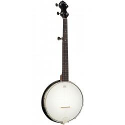 AC-Traveler: Travel-Scale Composite 5-String Banjo with Gig Bag