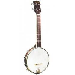 BU-1: Concert-Scale Banjo Ukulele with Gig Bag