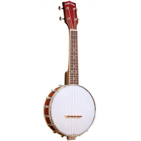BUS: Soprano-Scale Banjo Ukulele with Case