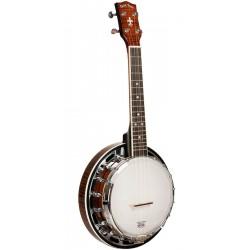 Mastertone Banjolele-DLX: Concert-Scale Banjo Ukulele Deluxe with Gig Bag
