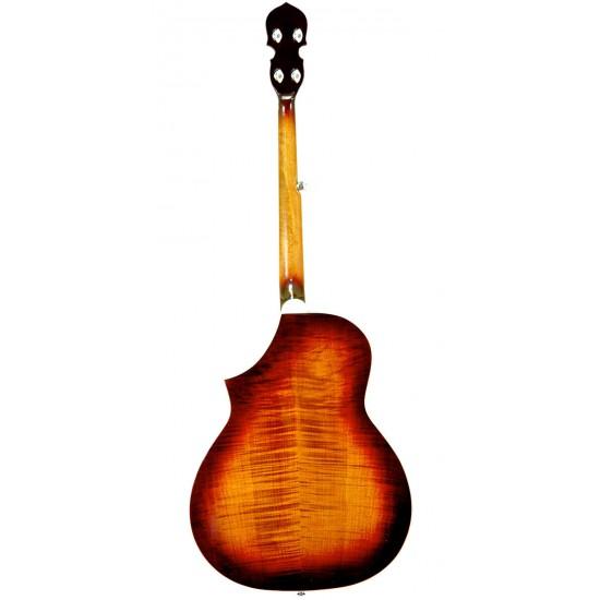 Dojo-DLX: Deluxe Resonator Banjo with Pickup and Bag