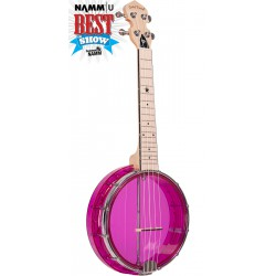 Little Gem (Amethyst): See-Through Banjo-Ukuleles