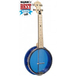 Little Gem (Sapphire): See-Through Banjo-Ukuleles