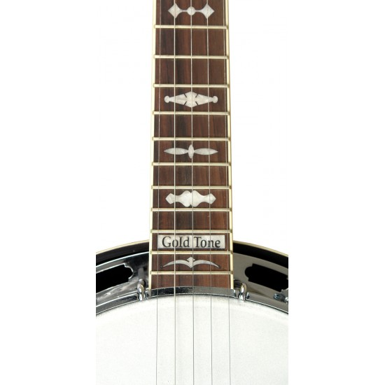 OB-150RF: Orange Blossom Radiused Banjo with Case