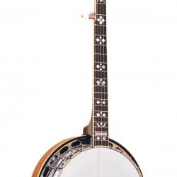 OB-250+: Orange Blossom Banjo with JLS #12 Tone Ring with Case