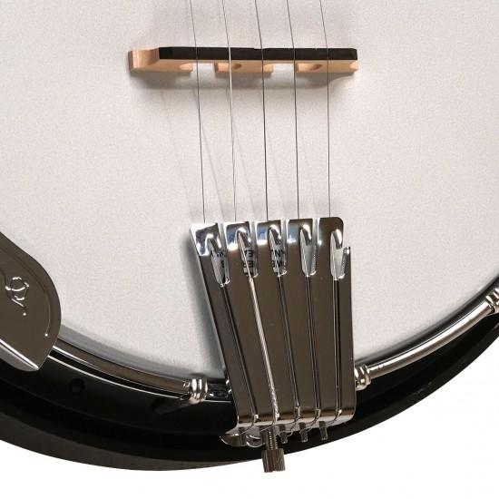 AC-5: Acoustic Composite 5-String Banjo with Gig Bag
